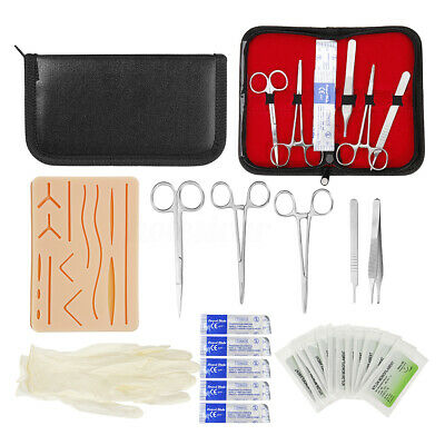 25Pcs Suture Practice Kit Medical Surgical Kit Suturing Pad Training Surgery Kit