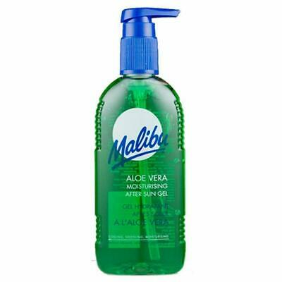 Malibu After Sun Aloe Vera Moisturising Aftersun Gel Cooling Lotion Cream 200 ml