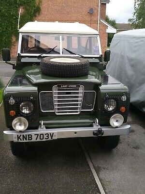 Land Rover Series 3, 1980, Fully Restored, 2.25 Ltr Petrol, with LPG Conversion