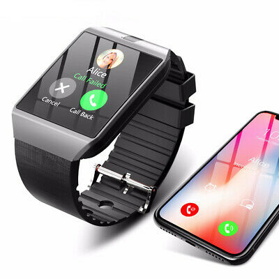 Bluetooth DZ09 GSM Smart Camera For Android SIM Card Wrist Watch Phone New