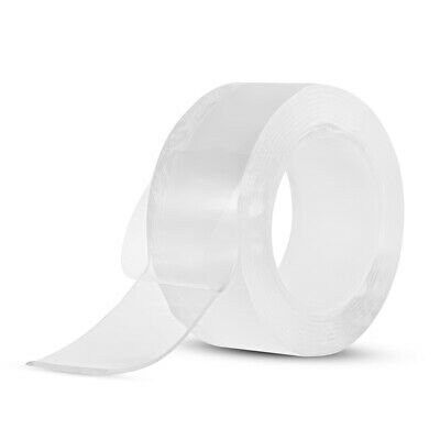3 Meters/9.84ft Washable Traceless Double-sided Adhesive Tape Removable R6Q2