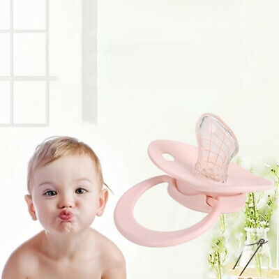 Baby Cute Newborn Orthodontic Pacifier Infant Silicone Teat Dummy Nipple Soother