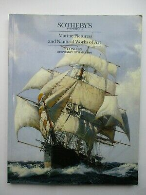 Sotheby's Auction Catalogue - Marine Pictures and Nautical Works of Art 1994