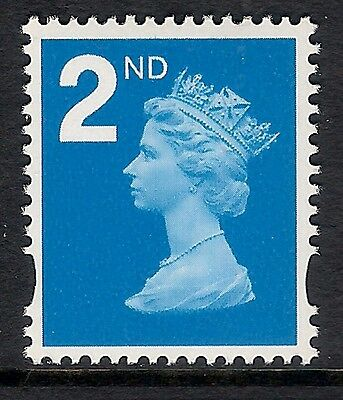 GB 2006-7 sg2650 Pricing In Proportion 2nd Blue ordinary gum MNH