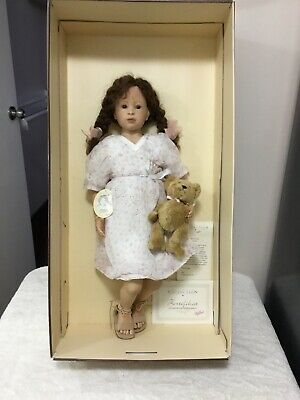 Rare New Zapf Creations XL Annabell Designer Collection Doll 63cm Silicone