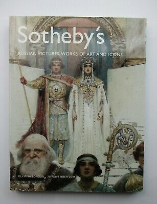 Sotheby's Auction Catalogue - Russian Pictures, Works of Art and Icons 2005