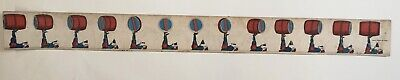 Rare Optical Toy / Zoetrope Strip 1867 / Milton Bradley / Double Sided Animation