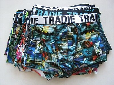 6x  MEN'S TRADIE & KENJI QUICK DRY TRUNK WITH DEFECTS