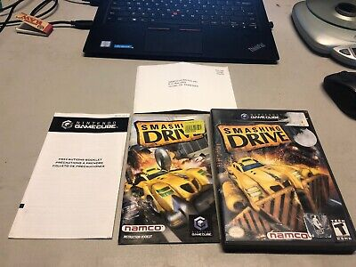 Smashing Drive (Nintendo GameCube, 2002)COMPLETE WITH REG CARD