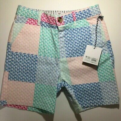 NWT Vineyard Vines for Target Boys Patchwork Whale Shorts 5T Toddler