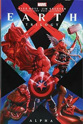 EARTH X TRILOGY OMNIBUS: ALPHA By Marvel Comics - Hardcover **Mint Condition**