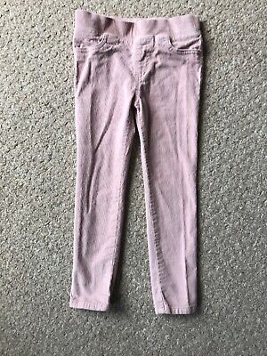 F&F Girls Pink Cords Age 4-5 Years