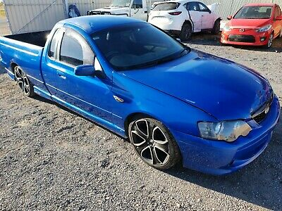 2004 Ford Falcon Ba 5.4L Xr8  Boss 260 Ute Dual Fuel Light Damaged Repairable