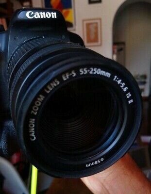 Canon EF-S 55-250mm f/4-5,6 IS STM IS lens / obiettivo