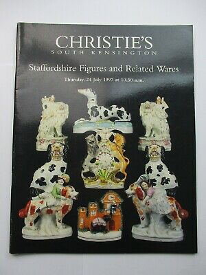Christie's Auction Catalogue - Staffordshire Figures and Related Wares 1997