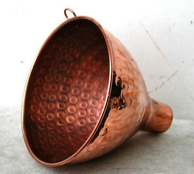 Funnel for Wine in Copper Pure Use Enological