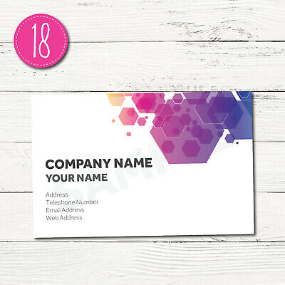 150 Personalised Business Cards - Customise & Create Your Own - Design 18