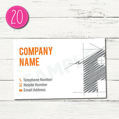 150 Personalised Business Cards - Customise & Create Your Own - Design 20