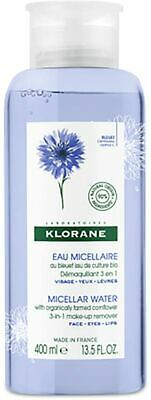 2 x Klorane Eau Floral Water Make-up Remover 400ml