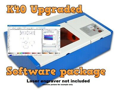 K40 / CHINESE Engraver 40w C02 Laser Cutter Air Assist