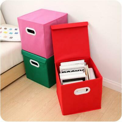1Pc Folding Finishing Clothing Box Basket Storage Boxes Useful Hot LA