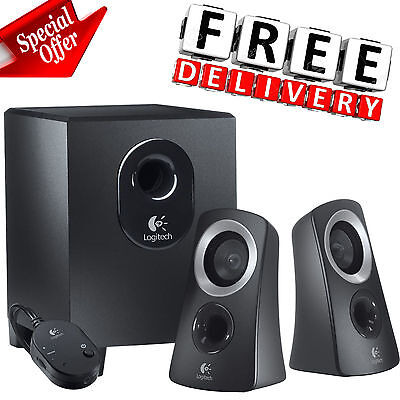 Subwoofer Speaker System Home Audio Stereo Bass Sound Gaming TV PC Computer New