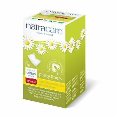 Natracare Panty Liner - Normal Wrapped - 18 Ct 4 Pack