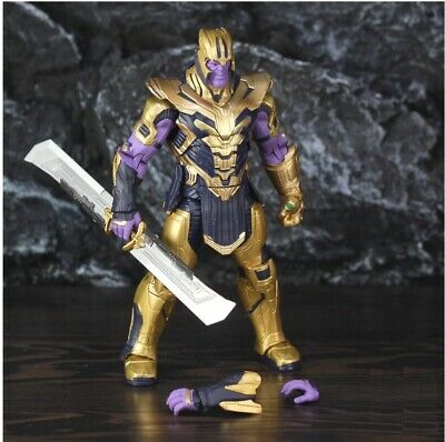 THANOS figurine Avengers Endgame Infinity Gauntlet, action figure taille: 20cm.