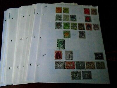 39 Page Netherlands Stamp Collection to clear 1876-2010
