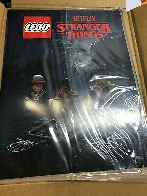 """Lego Limited Edition 10"""" x 13"""" Stranger Things Poster Art Print Flier 