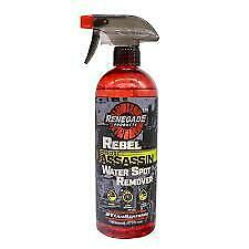 Renegade Water Spot Remover Rebel Cleaner Car Truck Auto Semi Mineral Water