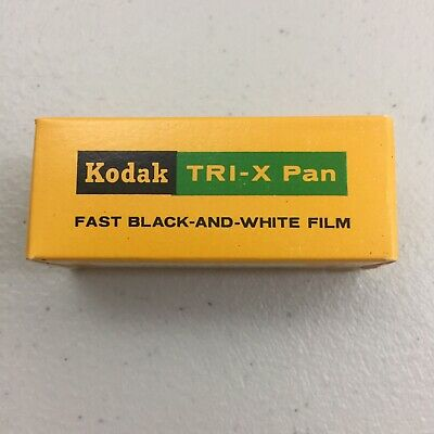 Antique Vintage Kodak Tri-X pan film 1 roll of TX 127 fast black and white film
