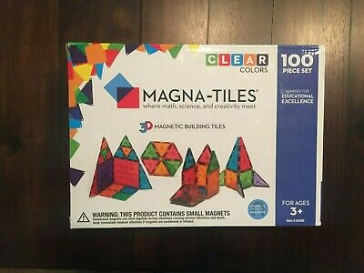 Magna-Tiles 100 Piece Set Valtech Brand New