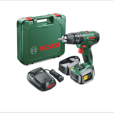 Bosch PSB1800 LI-2 Cordless Combi Drill with Two (2) 18v Lithium-Ion Batteries
