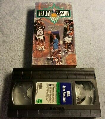 NBA Jam Session (1993) - VHS Tape - Basketball - Shaq - Charles Barkley