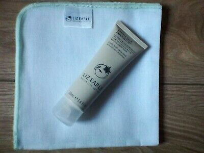 Liz Earle Gentle Face Exfolitor 50ml Tube & Cloth Brand New Fresh Stock