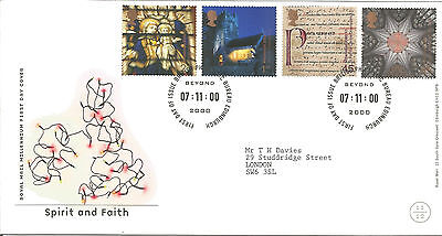 Gb Fdc 2000 Spirit And Faith