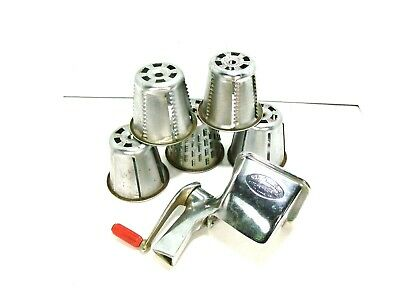 Saladmaster Grater Grinder Food Processor Replacement Cones # 1 2 3 4 and 5