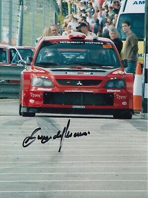 Gwyndaf Evans Hand Signed 8x6 Photo - Rally Autograph.