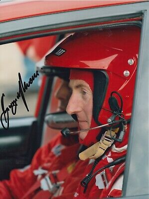 Gwyndaf Evans Hand Signed 8x6 Photo - Rally Autograph 2.