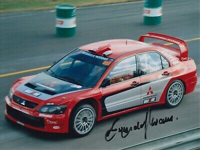 Gwyndaf Evans Hand Signed 8x6 Photo - Rally Autograph 5.