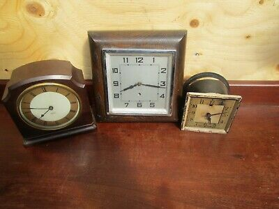 Smiths Electric  Movement Clock Parts + 2 Others