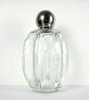 "Grand flacon de parfum vers 1930 H : 17 cm ""Made in France"" perfume bottle"