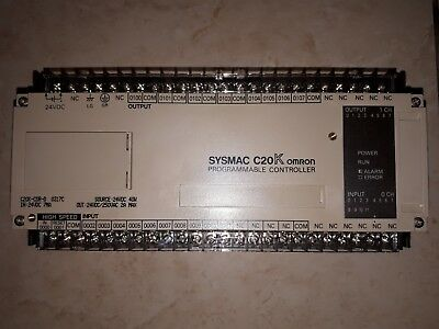 New Sysmac C20K-Cdr-D Omron Source 24 V Dc 40W Programmable Controller