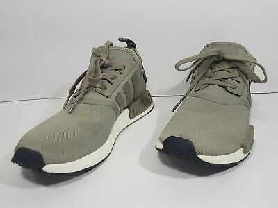 info for afea8 2f46c ADIDAS NMD R1 UltraBoost Runner Trace Cargo Trail Olive BA7249 Sz 10 1/2