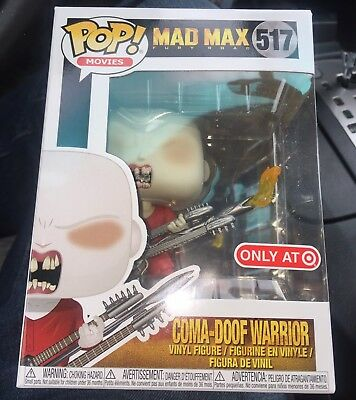 Funko Pop! Coma-Doof Warrior #517 (Target Exclusive) Mad Max Fury Road