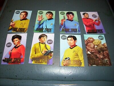 Dave and Buster's Star Trek coin pusher ARCADE cards Full Set with tribbles
