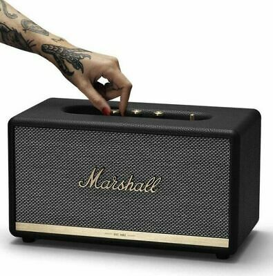 Marshall Stanmore II 80W Wireless Bluetooth Speaker , Black & White, New