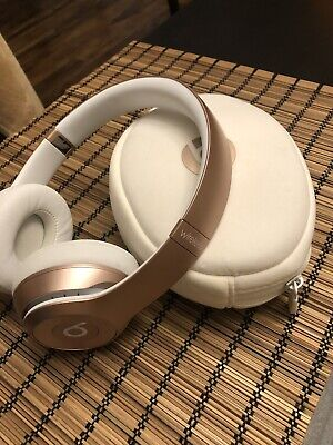 Beats by Dr. Dre Solo3 Wireless Over the Ear Headphones - Rose Gold