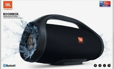 JBL Boombox Portable Bluetooth Waterproof Speaker (Black). SEALED